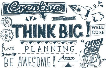 believe: Piense cree muy positivo Actitud