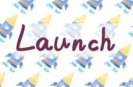 empezar: Objetivos de lanzamiento Startup Comience concepto objetivo Foto de archivo