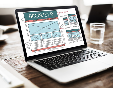 browse: Browse Browser Connect Internet Layout Concept