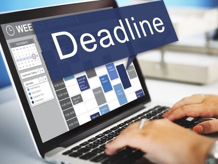 urgency: Deadline Appointment Final Time The End Countdown Urgency Concept Stock Photo