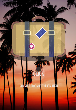 wanderlust: Luggage Bagage Travel Tourism Concept