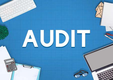 verification: Audit Check Financial Verification Concept