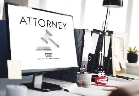 verdicts: Attorney Balance Court Document Judge Lawyer Concept
