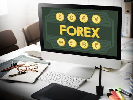 foreign exchange: Finance Foreign Exchange Money Symbol Concept