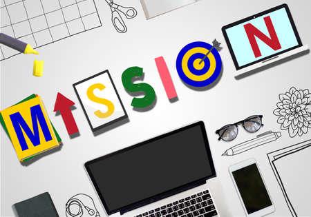 smart goals: Mission Objective Plan Strategy Target Goals Aspirations Concept
