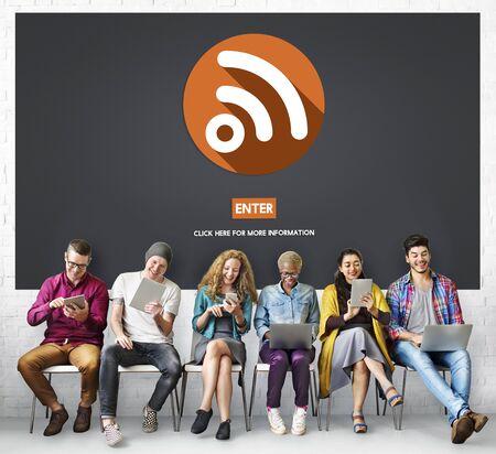 wireless technology: Wifi Wireless Technology Networking Connect Concept