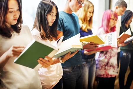 classmate: Reading Book Knowledge Information Classmate Concept