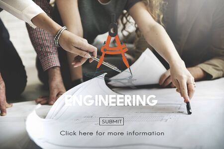 expertise: Engineering Occupation Professional Expertise Creative Concept Stock Photo