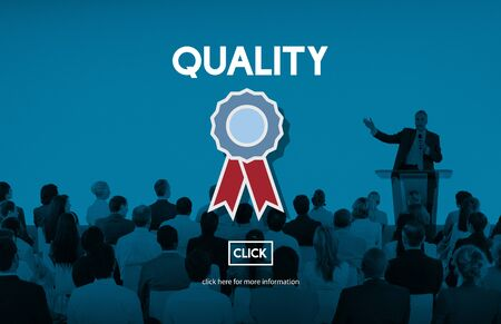 best quality: Quality Service Best Guarantee Value Concept Stock Photo
