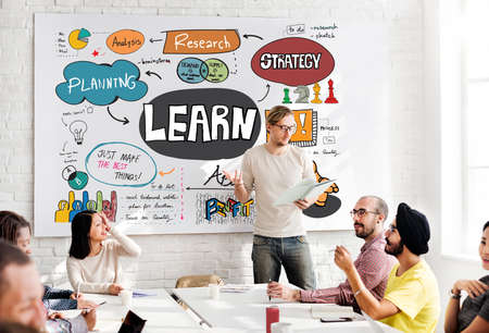 boardroom: Learn Learning Development Education Knowledge Concept Stock Photo