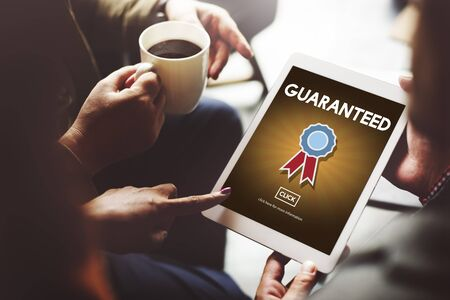 guaranteed: Guaranteed Warranty Quality Safety Service Concept