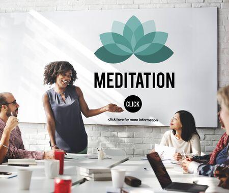mediate: Meditation Mediate Deal Agreement Concept