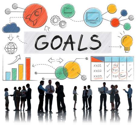 Goals Data Mission Target Aspiration Concept