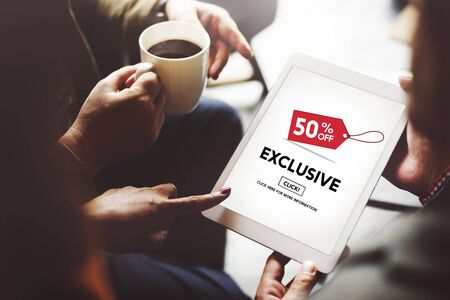 business media: Exclusive Discount Limited Luxury Offer Private Concept
