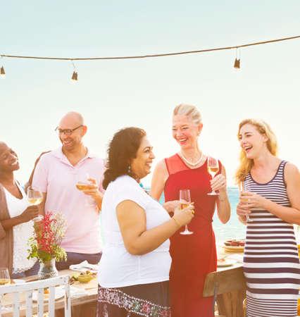 enjoyment: Enjoyment Food Beverage Wine Occasion Party Concept