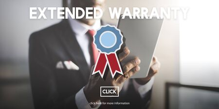 extended: Extended Warranty Guarantee Long-term Proof Concept Stock Photo