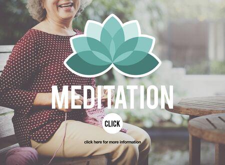 contemplation: Meditation Focus Contemplation Consideration Peaceful Concept