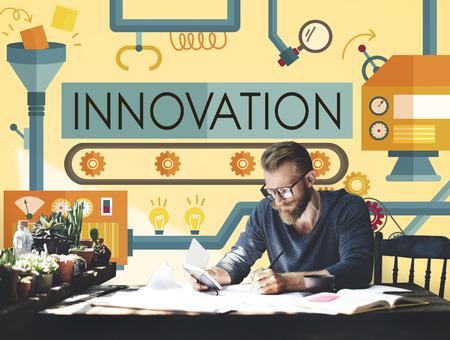 conveyor system: Innovation Ideas Imagine Processing System Concept