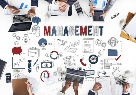 coordinacion: Management Business strategy Coordination Concept