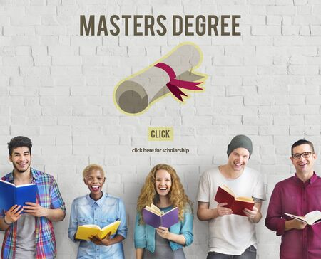 master's: Masters Degree Knowledge Education Graduation Concept