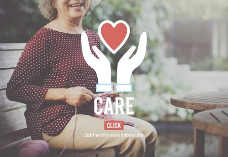tend: Care Concern Help Love Protection Welfare Concept