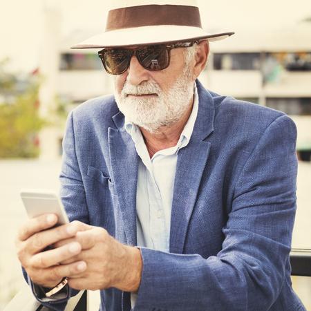 cool gadget: Cool Hipster Connection Gadget Communicetion Concept