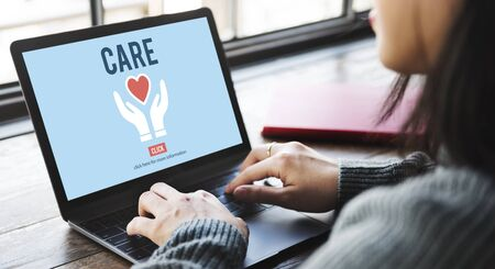 searching: Care Give Charity Share Donation Foundation Concept