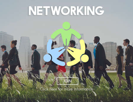 diversity domain: Network Networking Connection Social Network Concept