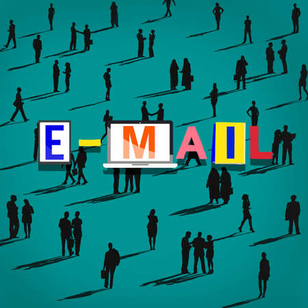 social gathering: Email Correspondence Communication Online Concept