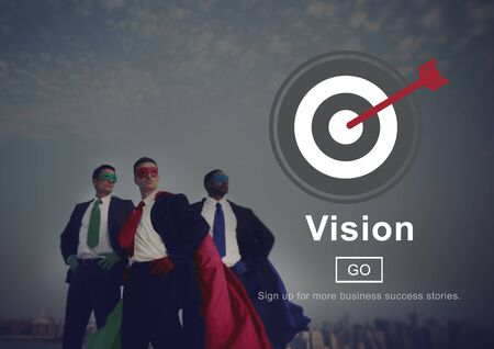superheroes: Vision Inspiration Homepage Ideas Concept