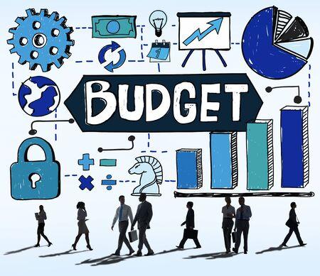 cash flow: Budget Finance Economy Cash Flow Concept Stock Photo