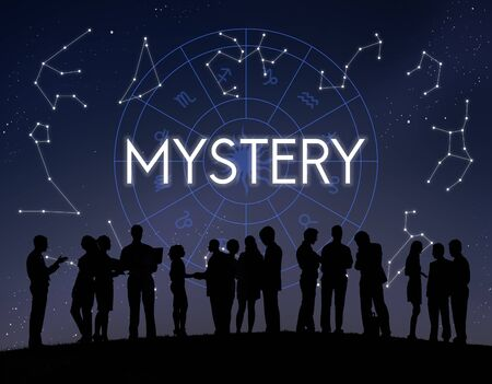 observable: Mystery Planets Horoscpoe Astrology Concept