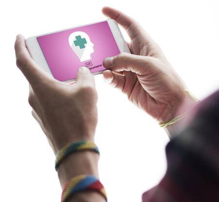 medic: Medic Healthcare Consultant Solve Care Concept