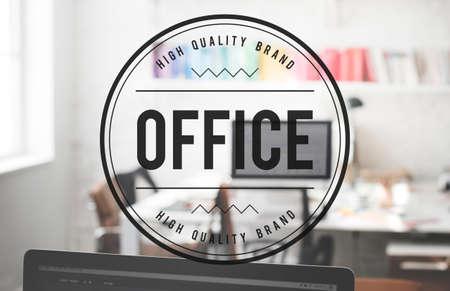 bureaucratic: Office Culture Interior Workplace Concept Stock Photo