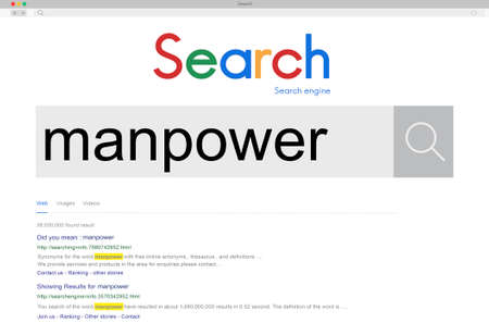 personnel: Manpower People Management Personnel Staff Concept