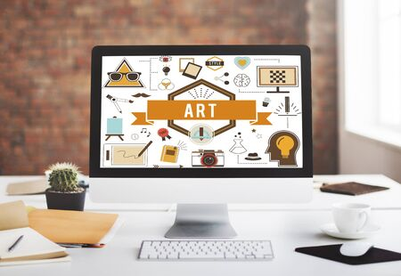 Kunst Kreative Imagination Inspiration Konzept Standard-Bild