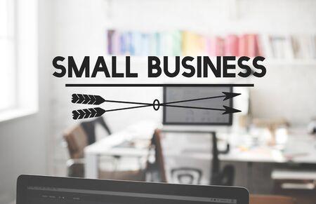 niche: Small Business Development Entrepreneur Niche Concept Stock Photo