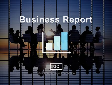 business report: Business Report Analytics Analysis Statistics Concept