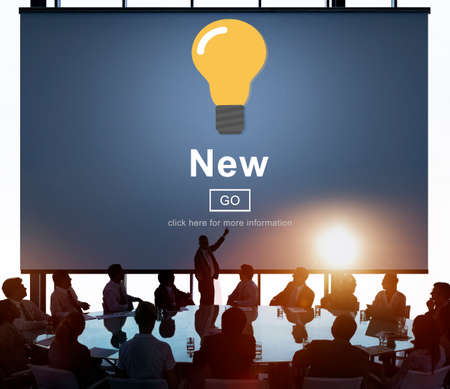 newly: New Newly Modern Present Current Fresh Latest Conecpt