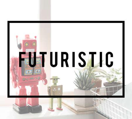 robotic: Futuristic Robotic Model Innovation Technology Concept