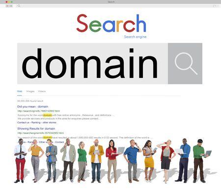 diversity domain: Domain Address Homepage Name Website Internet Concept