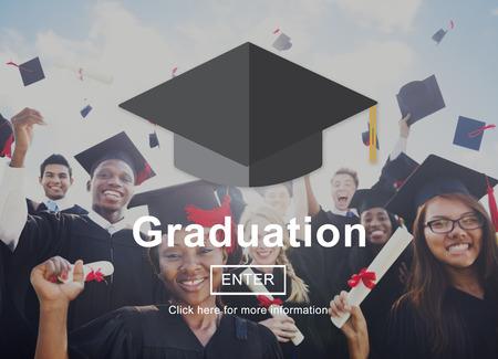 academic achievement: Graduation Education Academic Achievement Concept