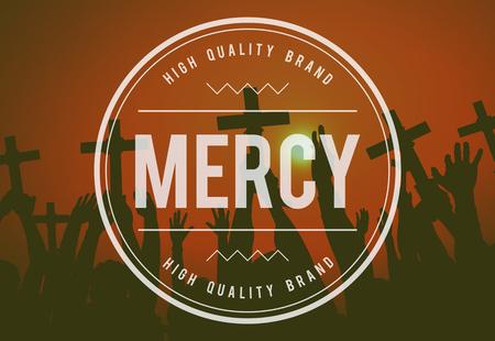 mercy: Mercy Forgiveness Religion Hope Christianity Concept