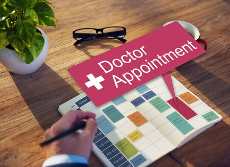 place to learn: Doctor Appointment Diagnosis Treatment Medical Concept