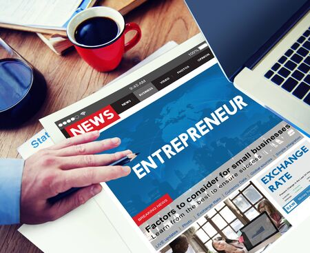 place to learn: Entrepreneur Developer Business Dealer Risk Concept