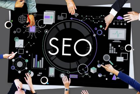 availability: SEO Search Technology Business Webpage Concept