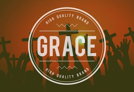 refinement: Grace Refinement Religion Spiritual Worship Concept Stock Photo
