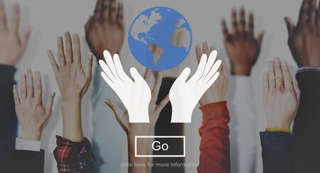 vote here: Save Earth World Community Global Concept