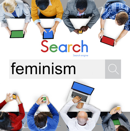 belief: Feminism Advocacy Belief Equality Movement Concept Stock Photo