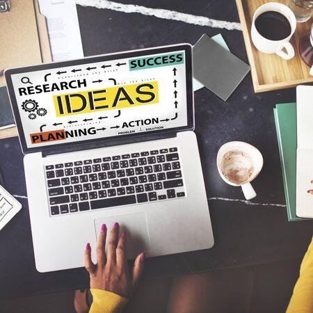 proposition: Ideas Success Planning Action Management Concept
